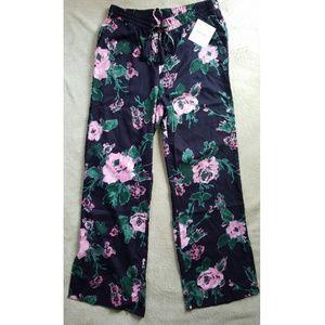 Ellen Tracy floral print pants